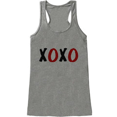 7 ate 9 Apparel Womens XOXO Valentine's Day Tank Top