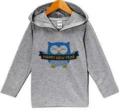 7 ate 9 Apparel Baby Boy's Happy New Years Eve Hoodie Pullover
