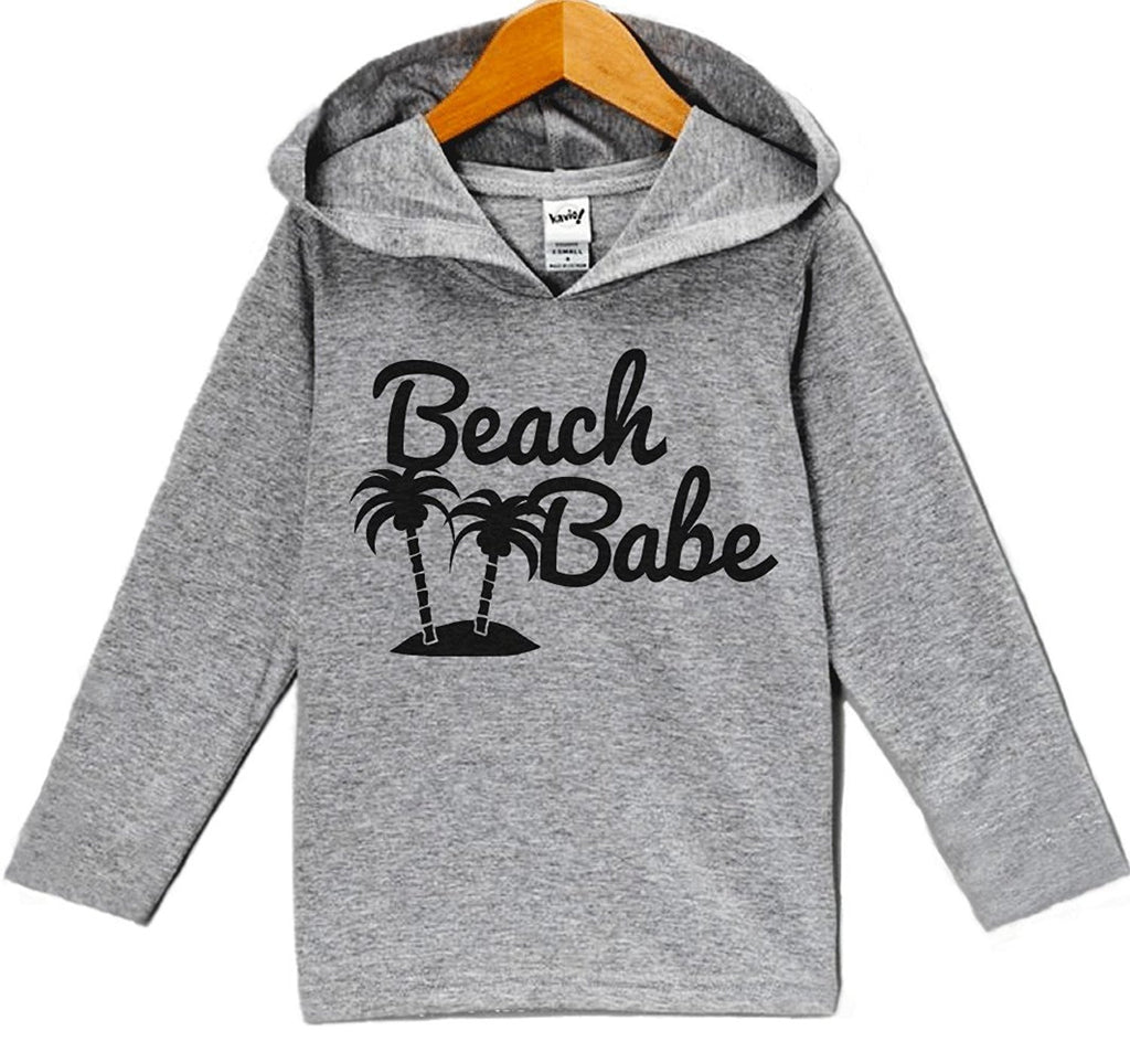 7 ate 9 Apparel Baby Girl's Beach Babe Summer Hoodie Pullover