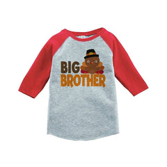 Big Brother - Thanksgiving Red Raglan
