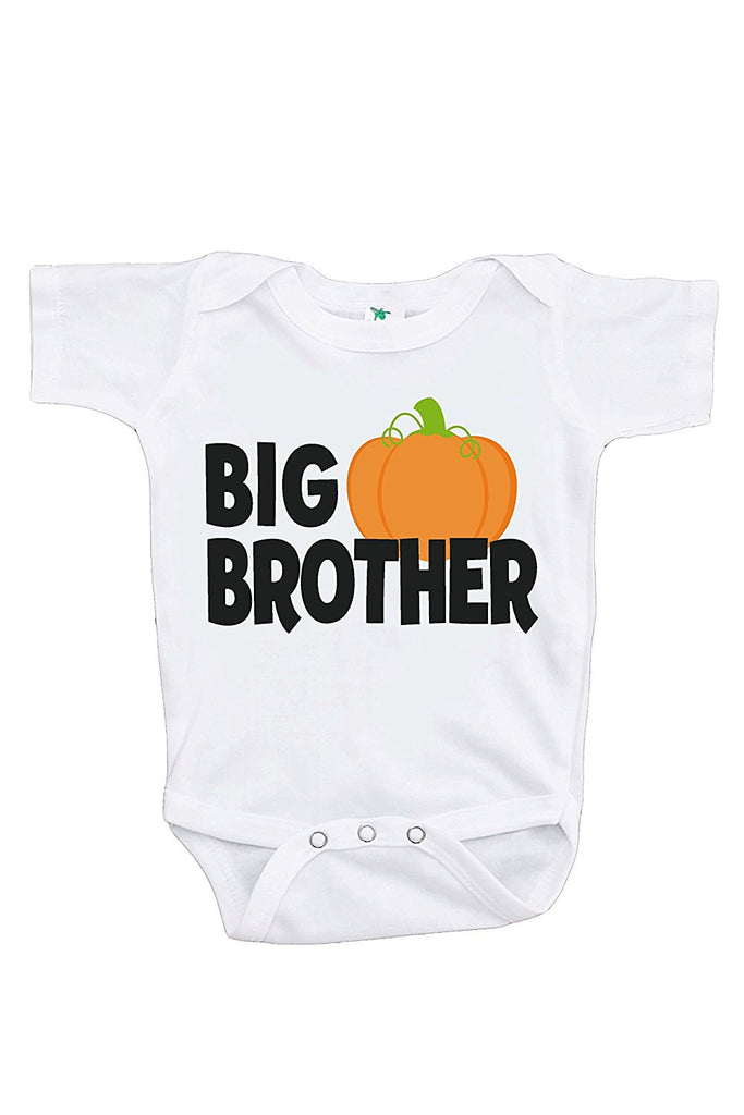 7 ate 9 Apparel Baby's Big Brother Halloween Onepiece