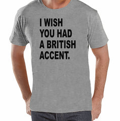 7 ate 9 Apparel Mens British Accent T-shirt