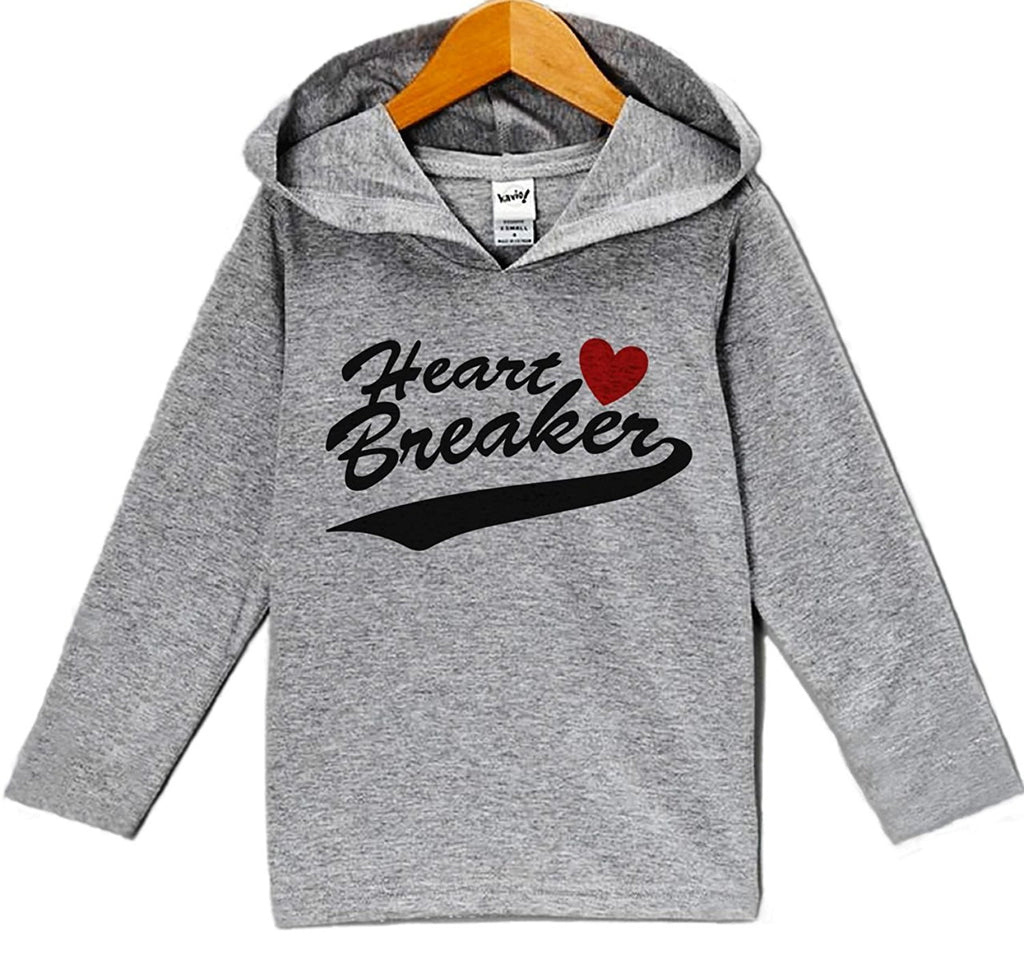 7 ate 9 Apparel Baby's Heart Breaker Valentine's Day Hoodie