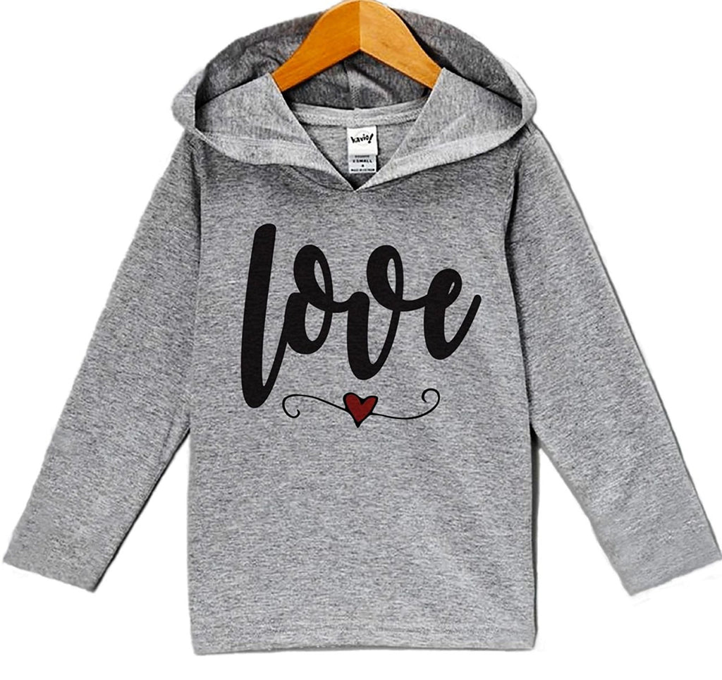7 ate 9 Apparel Baby's Love Valentine's Day Hoodie