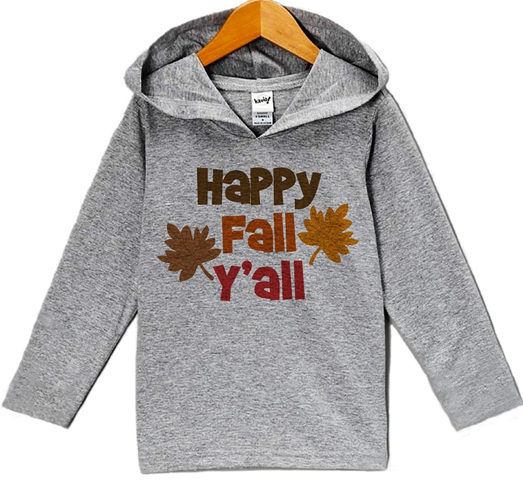 7 ate 9 Apparel Baby's Happy Fall Y'all Hoodie