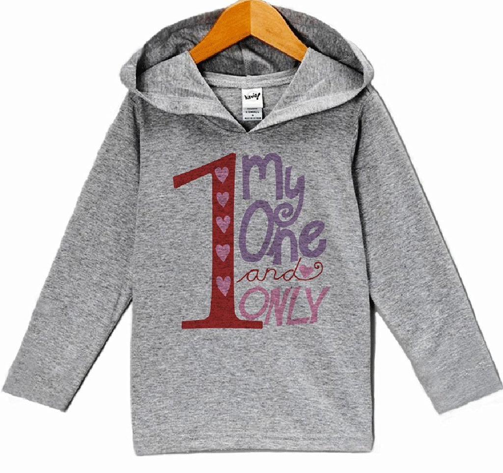 7 ate 9 Apparel Baby Girls' Valentine's Day Hoodie Pullover