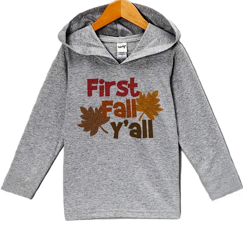 7 ate 9 Apparel Baby's First Fall Y'all Thanksgiving Hoodie