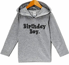 7 ate 9 Apparel Kid's Birthday Boy Hoodie