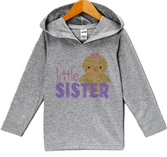 7 ate 9 Apparel Baby Girls' Little Sister Hoodie Pullover
