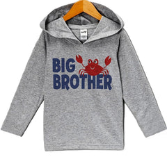 7 Ate 9 Apparel Baby Boy's Big Brother Summer Hoodie Pullover