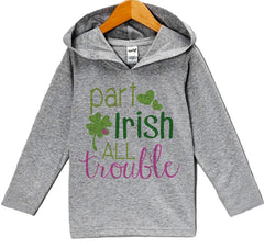 7 ate 9 Apparel Girls' St. Patricks Day Hoodie Pullover