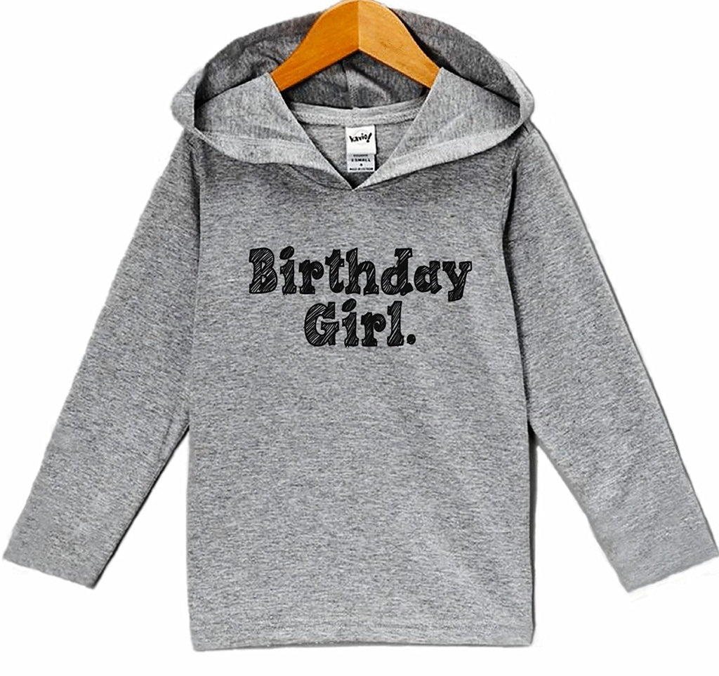 7 ate 9 Apparel Kid's Birthday Girl Hoodie