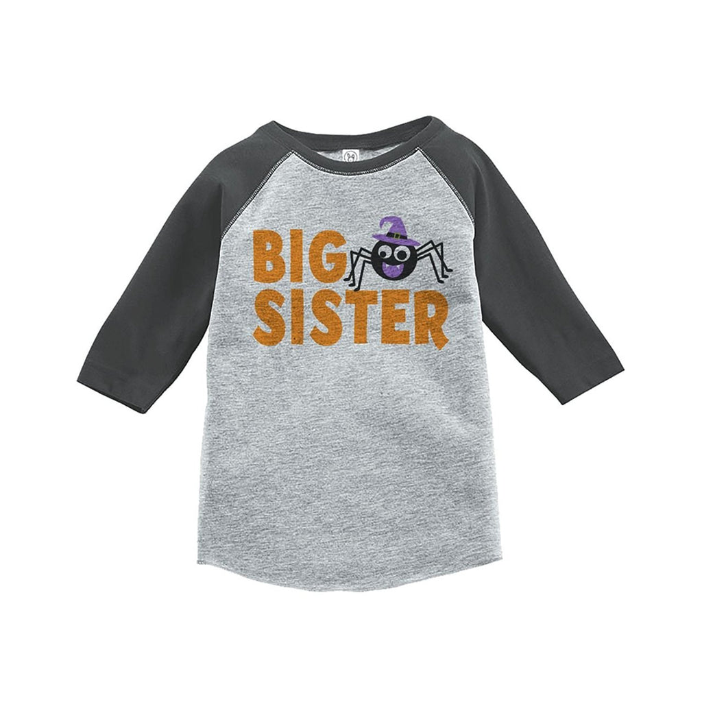 7 ate 9 Apparel Youth Big Sister Halloween Shirt