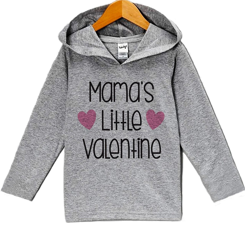 7 ate 9 Apparel Baby's Mama's Little Valentine Hoodie