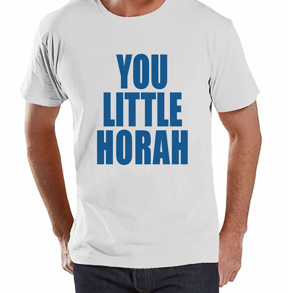You Little Horah - Men's White Hanukkah T-shirt