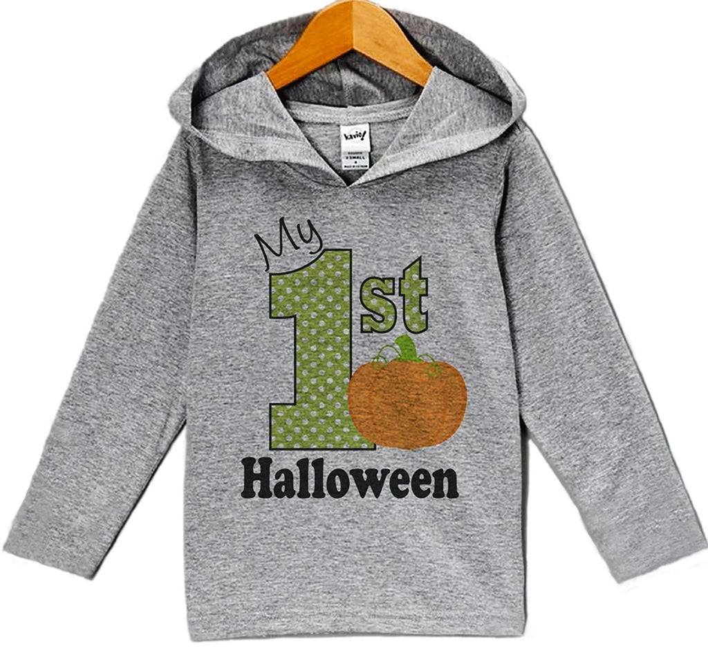 7 ate 9 Apparel Baby My First Halloween Hoodie
