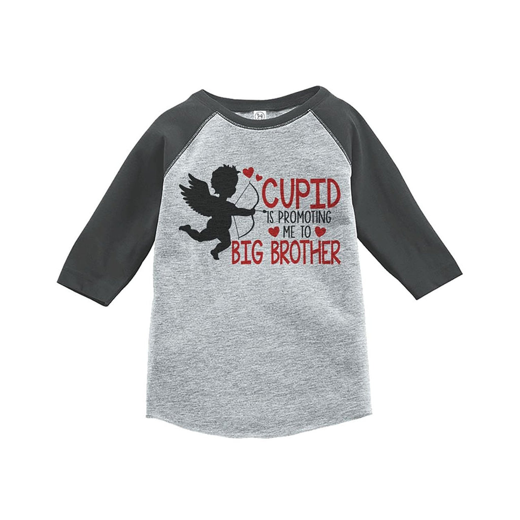 7 ate 9 Apparel Boy's Big Brother To Be Valentine's T-shirt