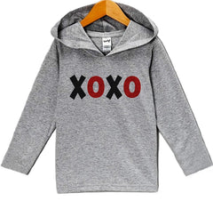 7 ate 9 Apparel Baby's XOXO Valentine's Day Hoodie