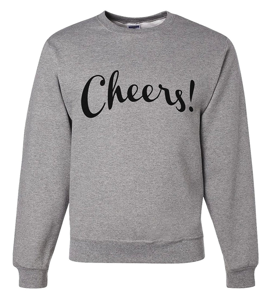 7 ate 9 Apparel Unisex Cheers! New Years Sweatshirt