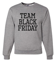 7 ate 9 Apparel Men's Team Black Friday Sweatshirt