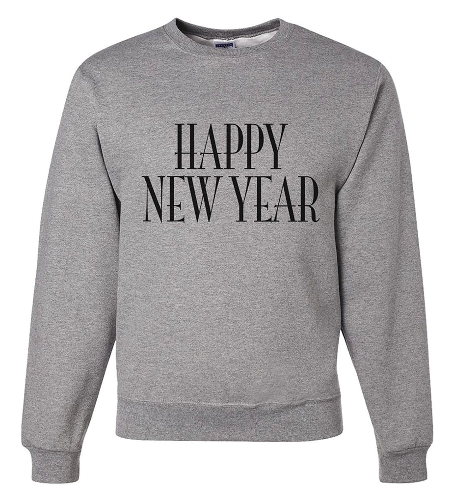 7 ate 9 Apparel Unisex Happy New Year New Years Sweatshirt
