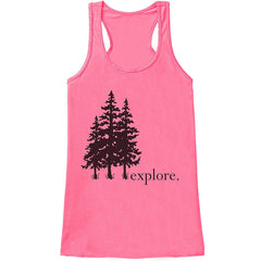 7 ate 9 Apparel Ladies Explore Outdoors Tank Top