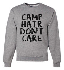 7 ate 9 Apparel Men's Camp Hair Don't Care Sweatshirt