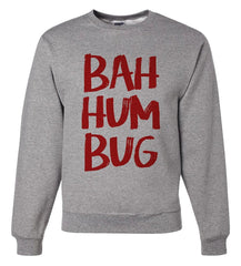 7 ate 9 Apparel Mens Ba Hum Bug Christmas Sweatshirt
