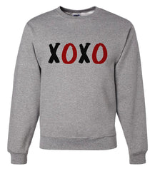 7 ate 9 Apparel Unisex XOXO Valentine's Day Sweatshirt