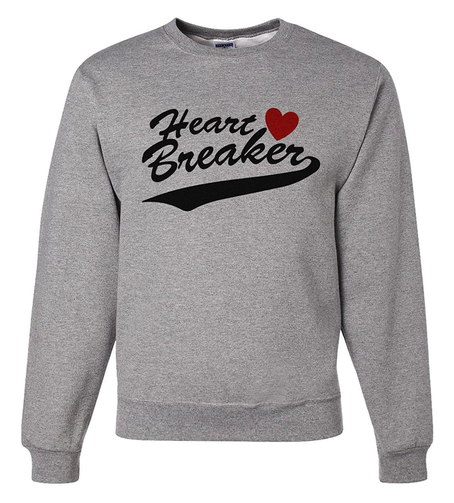 7 ate 9 Apparel Unisex Heart Breaker Valentine's Day Sweatshirt