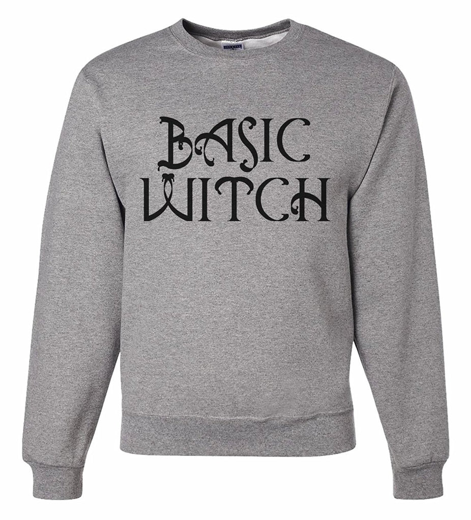 7 ate 9 Apparel Men's Basic Witch Halloween Sweatshirt