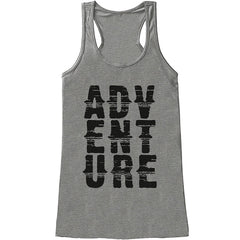 7 ate 9 Apparel Ladies Adventure Outdoors Tank Top