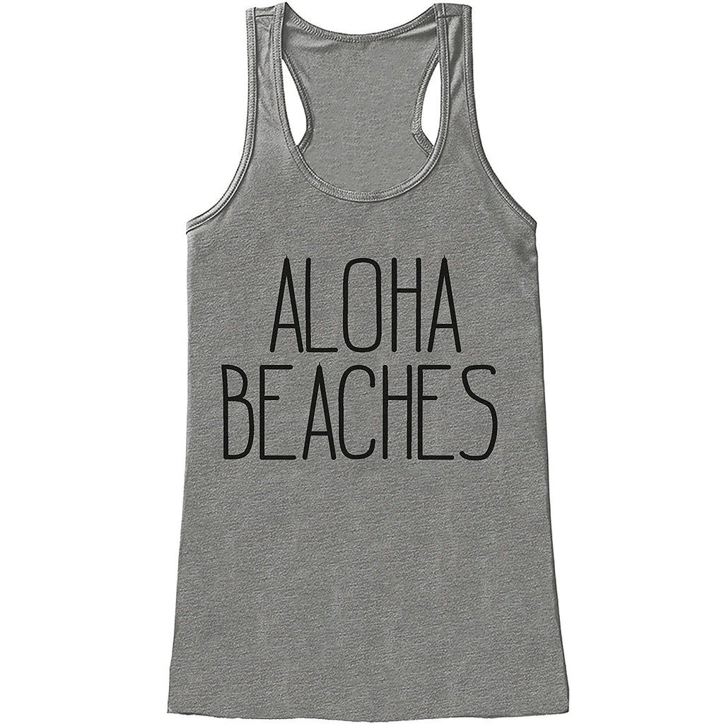 7 ate 9 Apparel Ladies Aloha Beaches Summer Tank Top