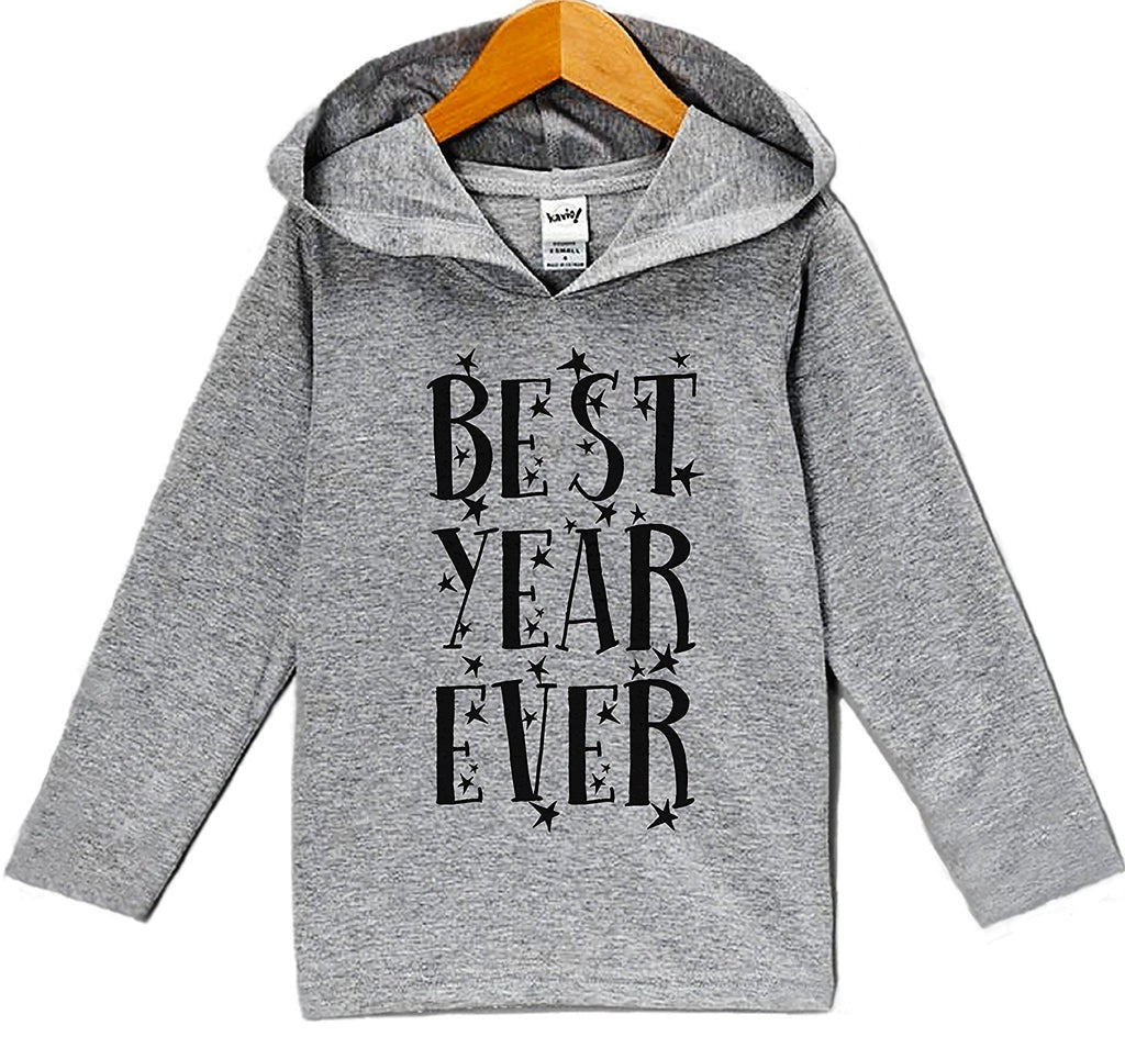 7 ate 9 Apparel Baby's Best Year Ever New Year's Hoodie