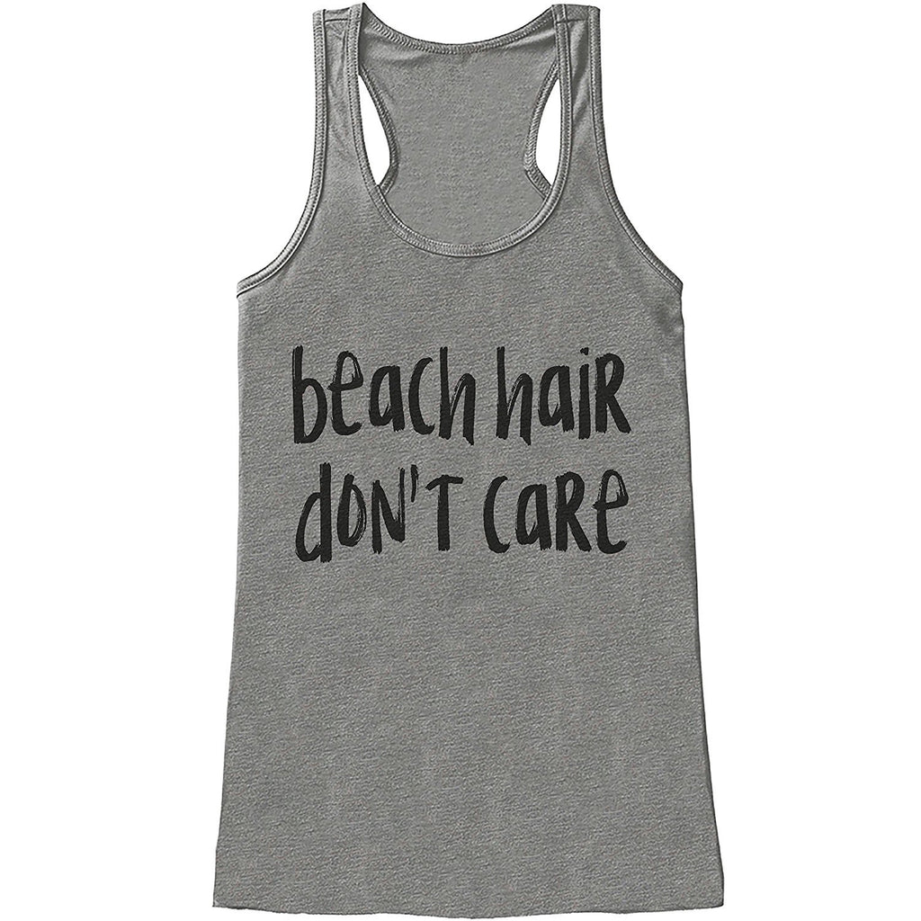 7 ate 9 Apparel Ladies Beach Hair Don't Care Summer Tank Top