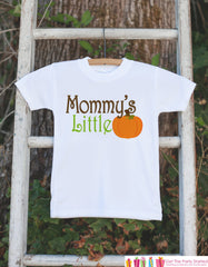 Mommy's Little Pumpkin Thanksgiving Outfit - Pumpkin Onepiece or Tshirt - Fall Outfit for Baby Boy or Girl - Pumpkin Shirt - Kids Fall Shirt