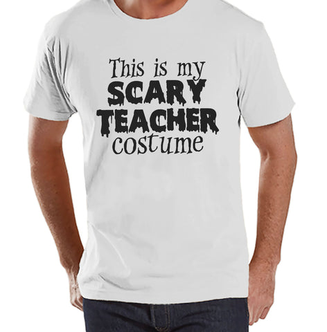 mens scary teacher costume school halloween party adult halloween costumes funny mens shirt