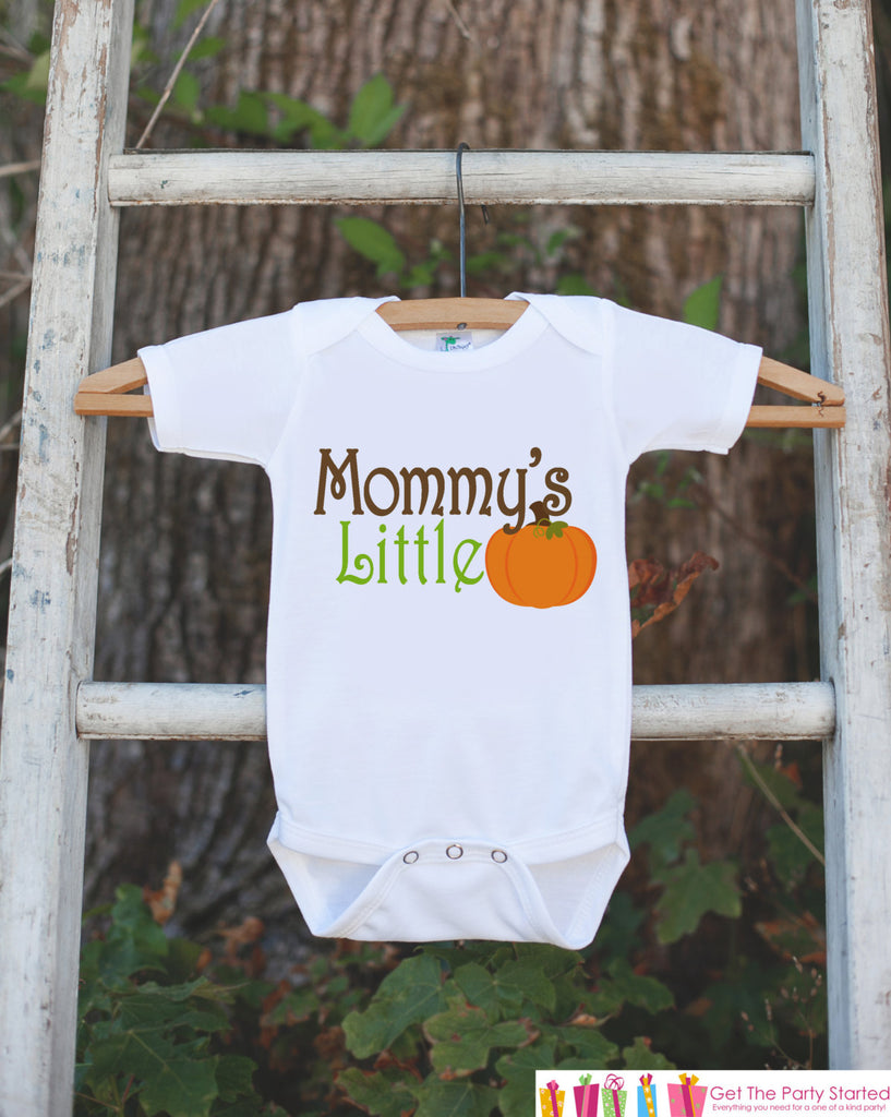 561880f6 Mommy's Little Pumpkin Thanksgiving Outfit - Pumpkin Onepiece or Tshirt - Fall  Outfit for Baby Boy
