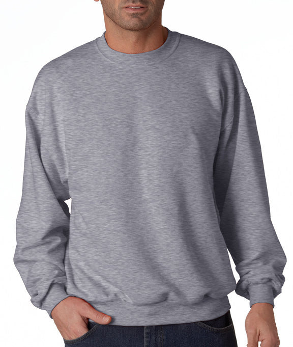 Camping Sweatshirt - Mens Crewneck Sweatshirt - Take a Hike Funny Adult Grey Sweatshirt - Novelty Outdoors Sweatshirt - Camping Gift for Him - 7 ate 9 Apparel