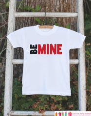 Boys Valentines Day Outfit - Be Mine Valentines Day Onepiece or Tshirt - Boy's Valentine's Day Shirt - Kids Happy Valentine's Day Outfit - 7 ate 9 Apparel
