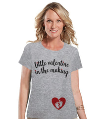Valentine's Pregnancy Reveal Shirt - Valentine in the Making