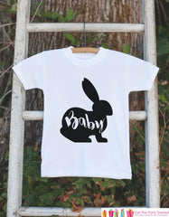 Kids Easter Outfit - Baby Bunny Onepiece or Tshirt - Kids Easter Bunny Outfit - Sibling Easter Outfits - Boy or Girl Newborn Infant Onepiece - 7 ate 9 Apparel