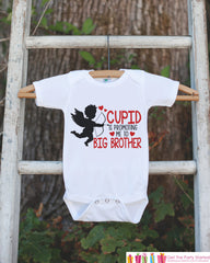 Big Brother Pregnancy Announcement Shirt - Cupid Big Brother Outfit - Big Brother Tee - Valentines Pregnancy Announcement - Pregnancy Reveal