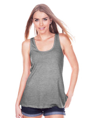 Womens Easter Shirt - Funny Easter Bunny Dinosaur Tank Top - Dino Bunny Ears - Womens Tank - Funny Happy Easter Outfit - Grey Tank Top - 7 ate 9 Apparel
