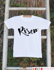 Kids Easter Outfit - Risen Onepiece or Tshirt - Kids Religious Easter Outfit - Christian Easter Outfit - Boy or Girl Baby, Toddler, Youth - 7 ate 9 Apparel