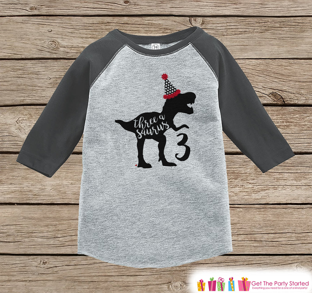 3rd Birthday Boy Shirts