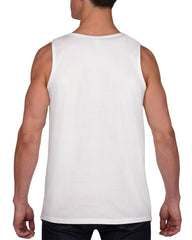 Men's Halloween Shirt - Boo Shirt - Adult Halloween Costume - Funny Men's White Tank Top - Men's Halloween Costume - Happy Halloween - Bold