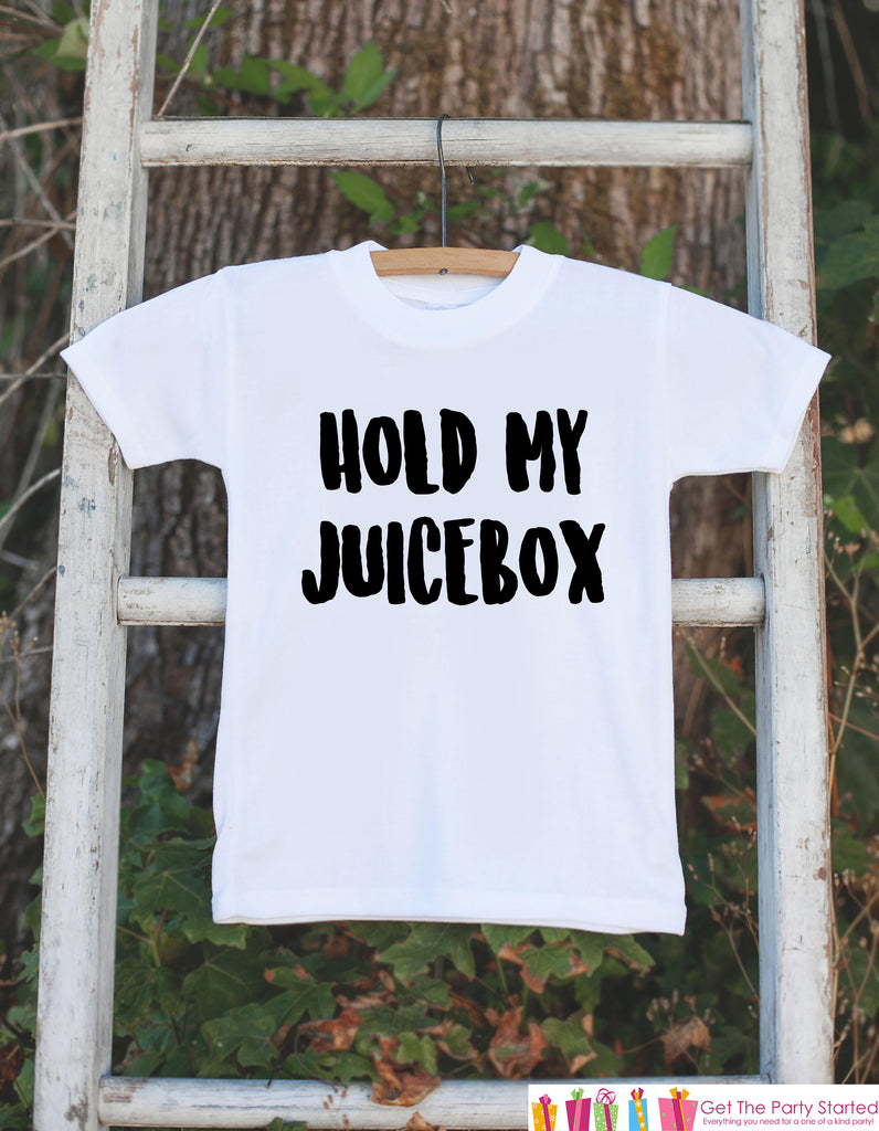 Hold My Juicebox Toddler Tshirt