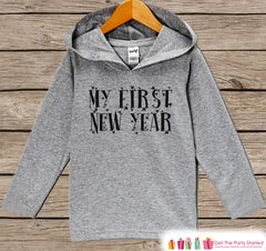 My 1st New Year gray sweater