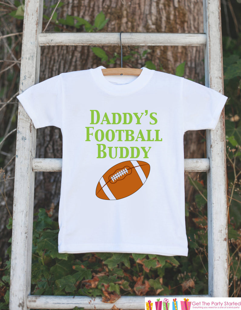 Baby Boy Football Outfit - Novelty Football Bodysuit - Football Baby Shower Gift For Boys - Football Onepiece - Daddy's Football Buddy Shirt - 7 ate 9 Apparel